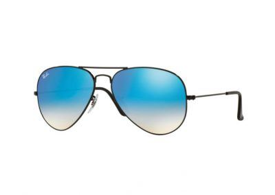 Ray-Ban Aviator Classic Black/blue gradient