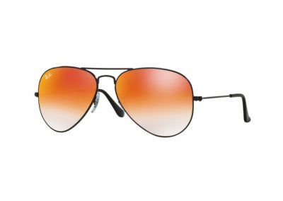 Ray-Ban Aviator Classic Black/Orange gradient