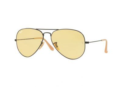 Ray-Ban Aviator Classic Black/Orange/Nude